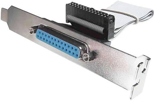 Soros beépíthető csatlakozó, kábellel, D-SUB dugó 25 pol/Centronics, Digitus AK-580300-003-E