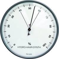 Hajszálas higrométer, páratartalom mérő, ezüst, ø 103 x 35 mm (44-2003) TFA