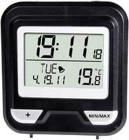 Digitális ébresztőóra, szobai hőmérővel WS 50 Alecto