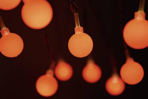 LED-es beltéri fényfüzér gömbökkel, piros, 20 LED, 1070 cm, Polarlite 684896