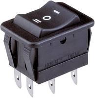 Billenőkapcsoló BE/KI/BE 30x22 mm (H1570 VB AAA) Arcolectric