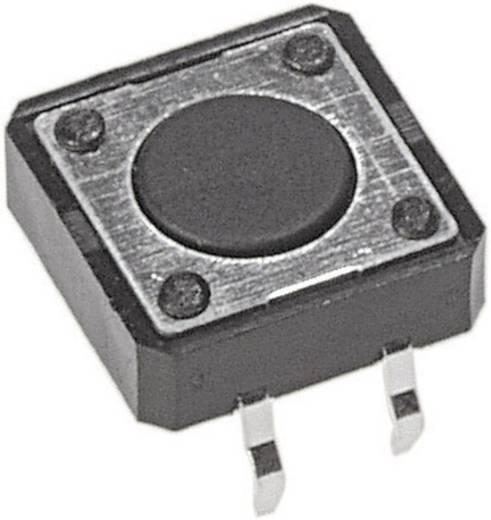 Nyomógomb nyákba 12 V/DC 50 mA, 1 x ki/(be), APEM PHAP3320A