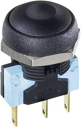 Nyomógomb 48 V/DC 0,2 A, 1 x ki/(be), IP67, APEM IRR3S432