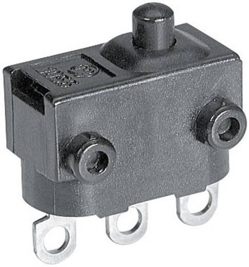 Szubminiatűr mikrokapcsoló 24 V/DC 2 A, 1 x be/(be), Marquardt 1056.3352
