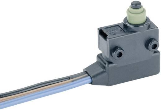 Szubminiatűr mikrokapcsoló 24 V/DC 2 A, 1 x be/(be), Marquardt 1058.0653