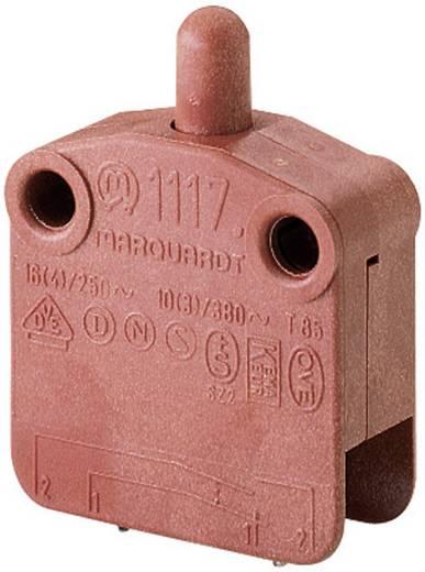 Marquardt zárt mikrókapcsoló, 16 A 400 V/AC, 1 x be/(ki), 1117.0201