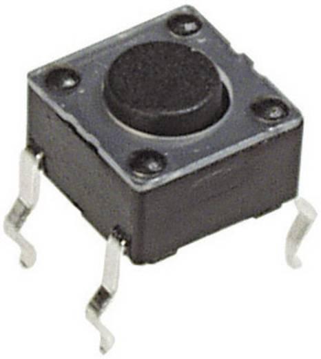 Nyomógomb 12 V/DC 50 mA, 1 x ki/(be), APEM PHAP3301A
