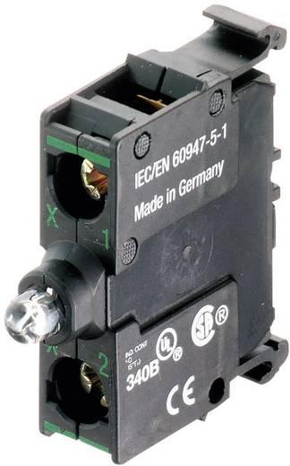 LED elem , M22-LED-B elöl , kék