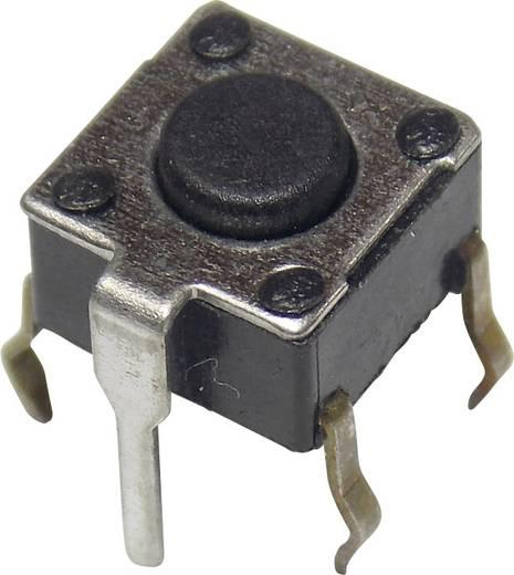 Nyomógomb 12 V/DC 50 mA, 1 x ki/(be), APEM PHAP3302D