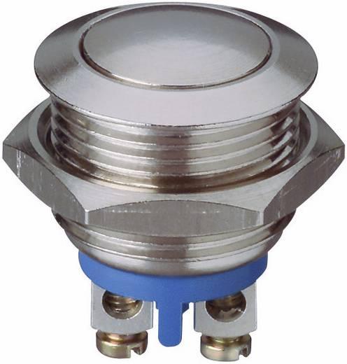 Vandálbiztos nyomógomb 48 V/DC 200 mA, 1 x ki/(be), APEM AV1630C900