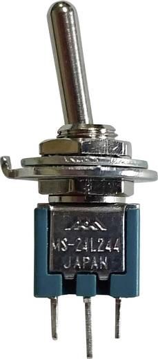 Mikrominiatűr billenőkapcsoló 1 pólusú BE/BE