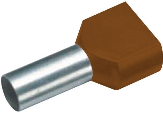 Érvéghüvely barna 2x10x14mm 100 db