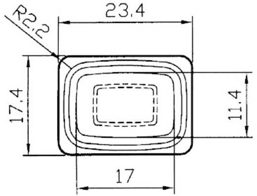 Billenőkapcsoló, IP56, R13-66B8 (1823805)