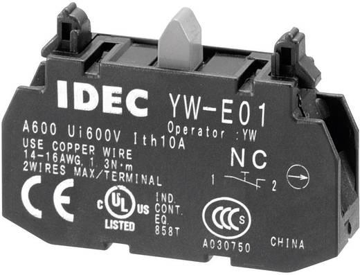 Egyszerű csatlakozóblokk, csavaros kivitel, 240 V/AC 6 A, Idec YW-E01