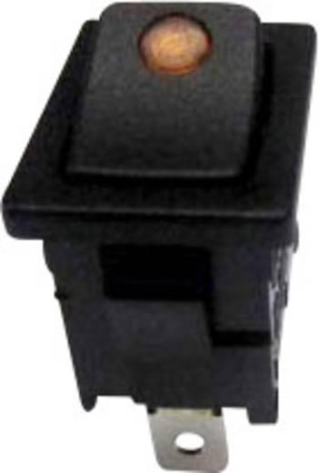 Billenőkapcsoló R13-66B2-02 sárga 250VAC