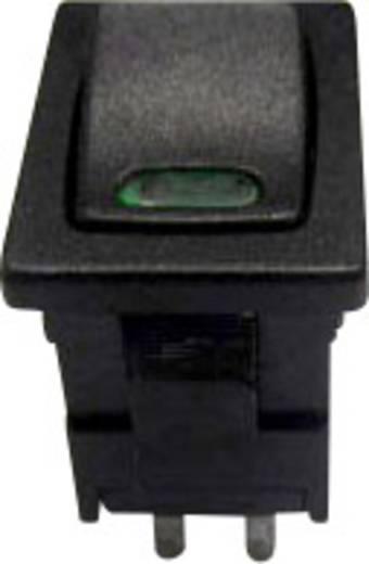 Billenőkapcsoló R13-66L-02 zöld