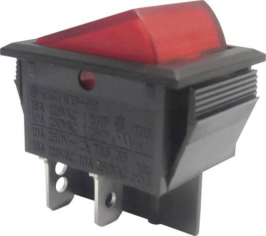 Billenőkapcsoló, R13-69B-01, piros