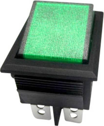 Billenőkapcsoló, R13-69B-01, zöld
