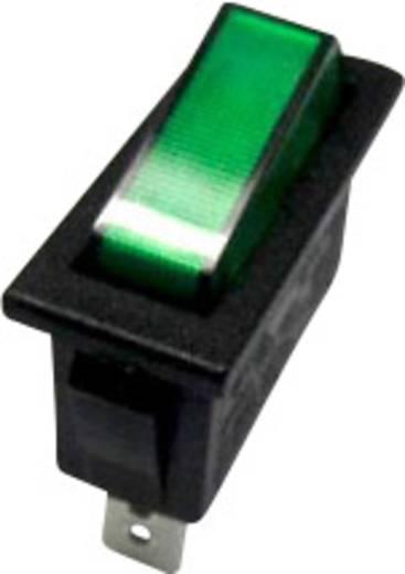 Billenőkapcsoló R13-70B-01 zöld 250VAC
