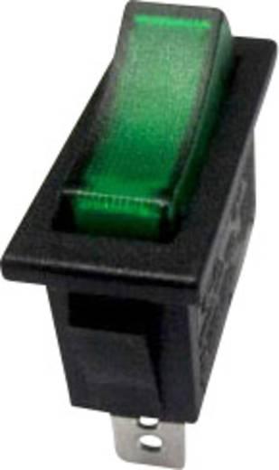 Billenőkapcsoló R13-91B-01 zöld 250VAC