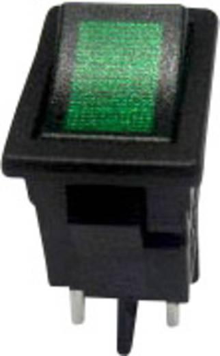 Billenőkapcsoló R13-73C-02 zöld