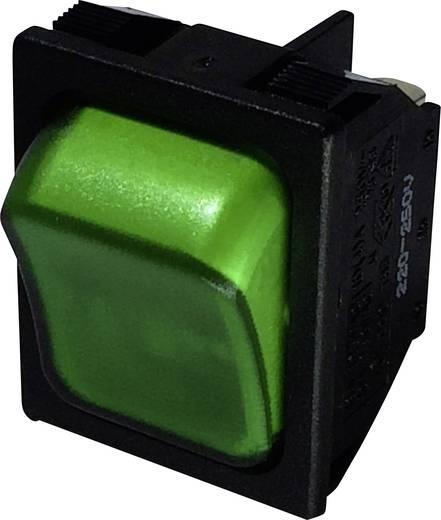 Billenőkapcsoló R13-87B-02 zöld