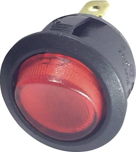 Billenőkapcsoló R13-208B-02 piros 250VAC