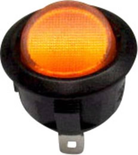 Billenőkapcsoló R13-208B-02 sárga 250VAC