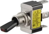 Gépjármű billenőkapcsoló 12 V/DC 30 A 1 x KI/BE Reteszelő TRU COMPONENTS TC-R13-423L GELB TRU Components