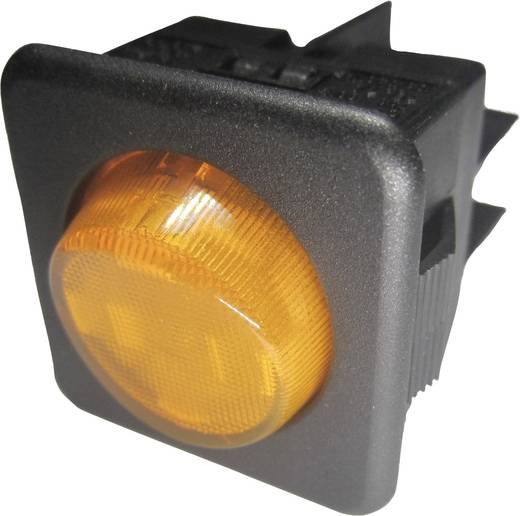 Billenőkapcsoló R13-104B-01 fekete/sárga