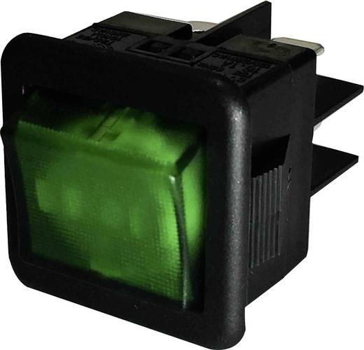 Billenőkapcsoló R13-105B-01 zöld TASTE