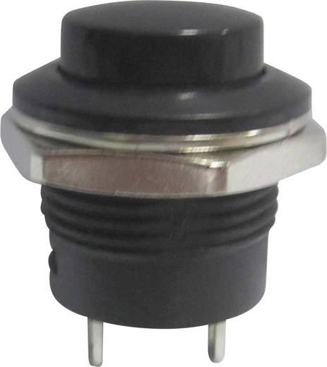 Nyomógomb 250 V/AC 3 A, 1 x ki/(be), piros, SCI R13-507A-05BK