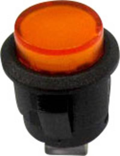 Nyomókapcsoló 250 V/AC 1,5 A, 1 x ki/be, sárga, SCI R13-523BL-05YL