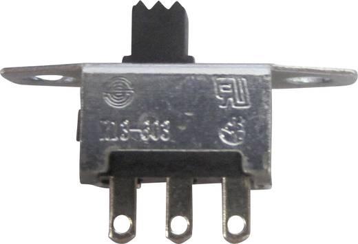 Tolókapcsoló 250 V/AC 6 A, 1 x be/be, SCI R13-603C-05