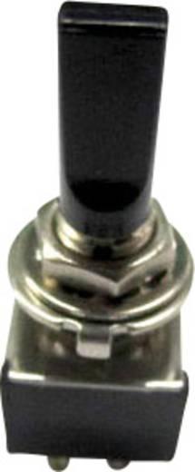 Billenőkapcsoló 6A TA202G1 fekete HEBEL