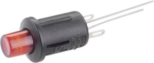 Nyomógomb 250 V/AC 0,5 A, 1 x ki/(be), piros, SCI R13-529ALRT