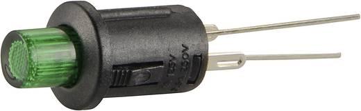 Nyomógomb 250 V/AC 0,5 A, 1 x ki/(be), zöld, SCI R13-529ALGN