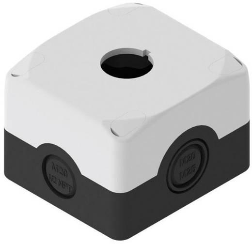 Üres ház 22 mm-es vészkikapcsolóhoz, fekete/szürke, Pizzato Elettrica ES 31000