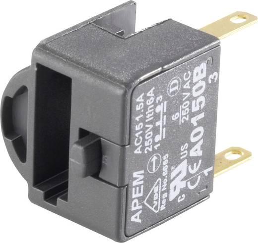 Kapcsoló elem 250 V/AC 1,5 A, 1 x be/(ki), APEM A0150B
