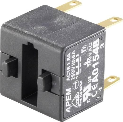Kapcsoló elem 250 V/AC 1,5 A, 2 x be/(ki), APEM A0154B