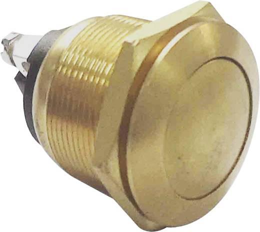 Robosztus nyomógomb, arany, 250V/AC, 2A, PBS-28B