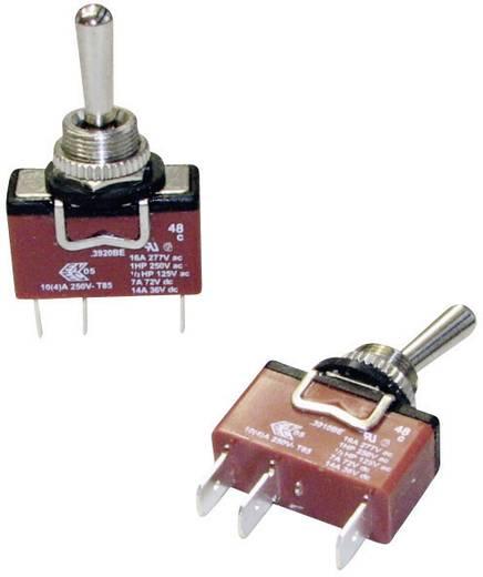 Arcolectric Billenőkapcsoló, 3900-as sorozat C3910BEAAA 1 x be/be bennmaradó/bennmaradó 250 V/AC 10 (4) A