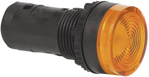 LED-es kompakt jelzőlámpa 230 V, sárga, Baco L20SA40H