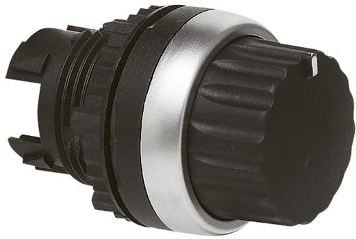 Forgókapcsoló, L21TB03 forrgatógombbal 2 pozíciós fekete