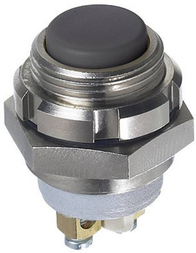 Nyomógomb 250 V/AC 48 V/DC 0,2 A, 1 x ki/(be) IP67, APEM IZMR3S41N