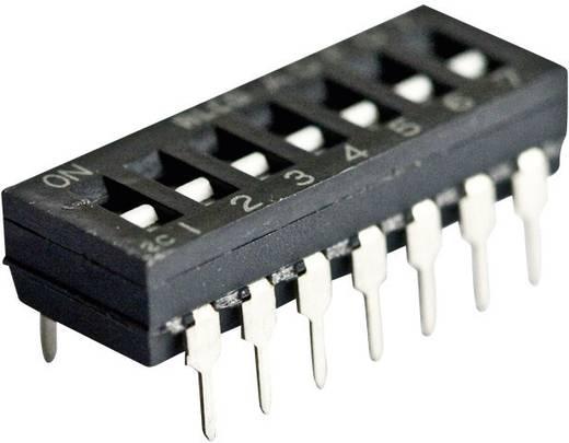TE Connectivity Kódkapcsoló 1825002-54 pólusú RM2,5424 V/DC100 mA