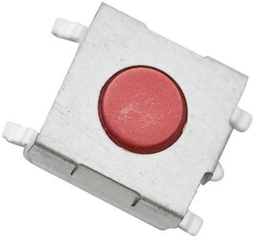 TE Connectivity alacsony profilú nyomógomb FSM 6 x 6, 50 mA 24 V/DC, 1 x ki, 1977263-1 FSM1LP