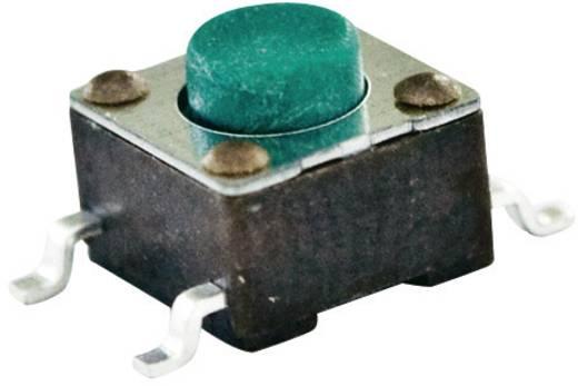 TE Connectivity nyomógomb FSM 6 x 6, 50 mA 24 V/DC, 1 x ki, 1977223-3 FSMJSM
