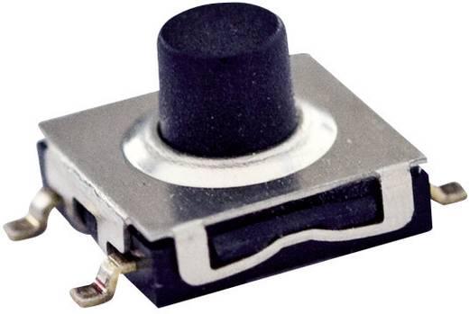 TE Connectivity cseppálló nyomógomb FSM 6 x 6, 50 mA 24 V/DC, 1 x ki, 1571295-1 FSMJS