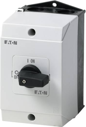 Be-ki kapcsoló 63 A 1 x 90 °, szürke/fekete, Eaton P3-63/I4